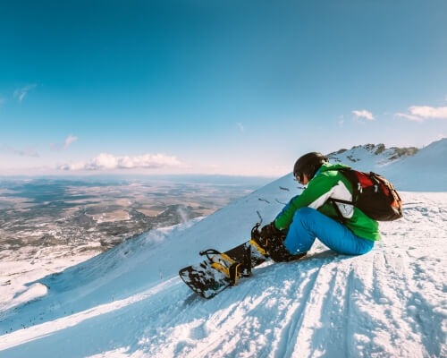 winter sports insurance from endsleigh promo